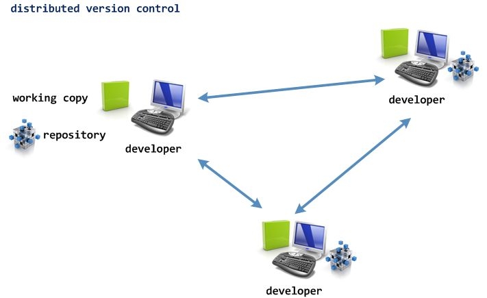 distributed version control system