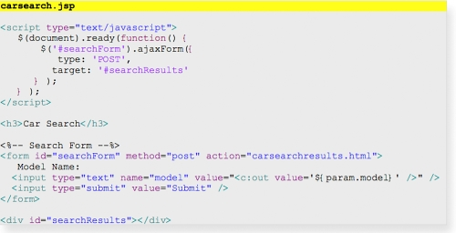 Your First Cup of Web 2 0 - A Quick Look at jQuery, Spring