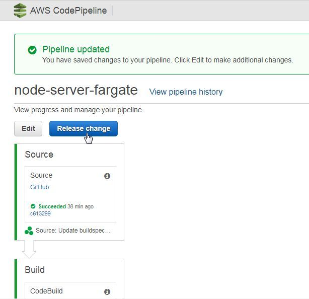 Deploy Docker With AWS CodePipeline