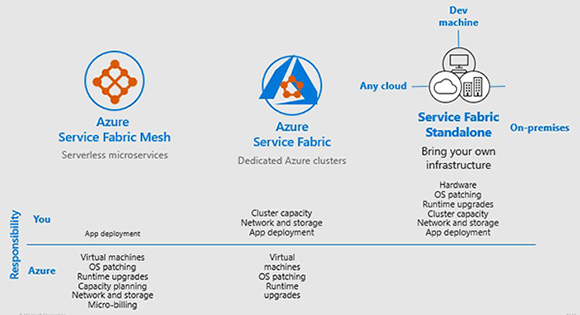 Exploring Azure Service Fabric Mesh: A Platform for Building Mission