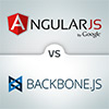 Contrasting Backbone and Angular