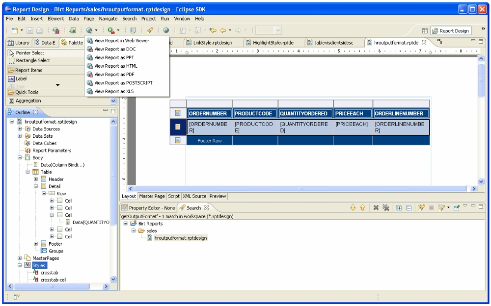 An Introduction to the Eclipse Business Intelligence and Reporting Tools