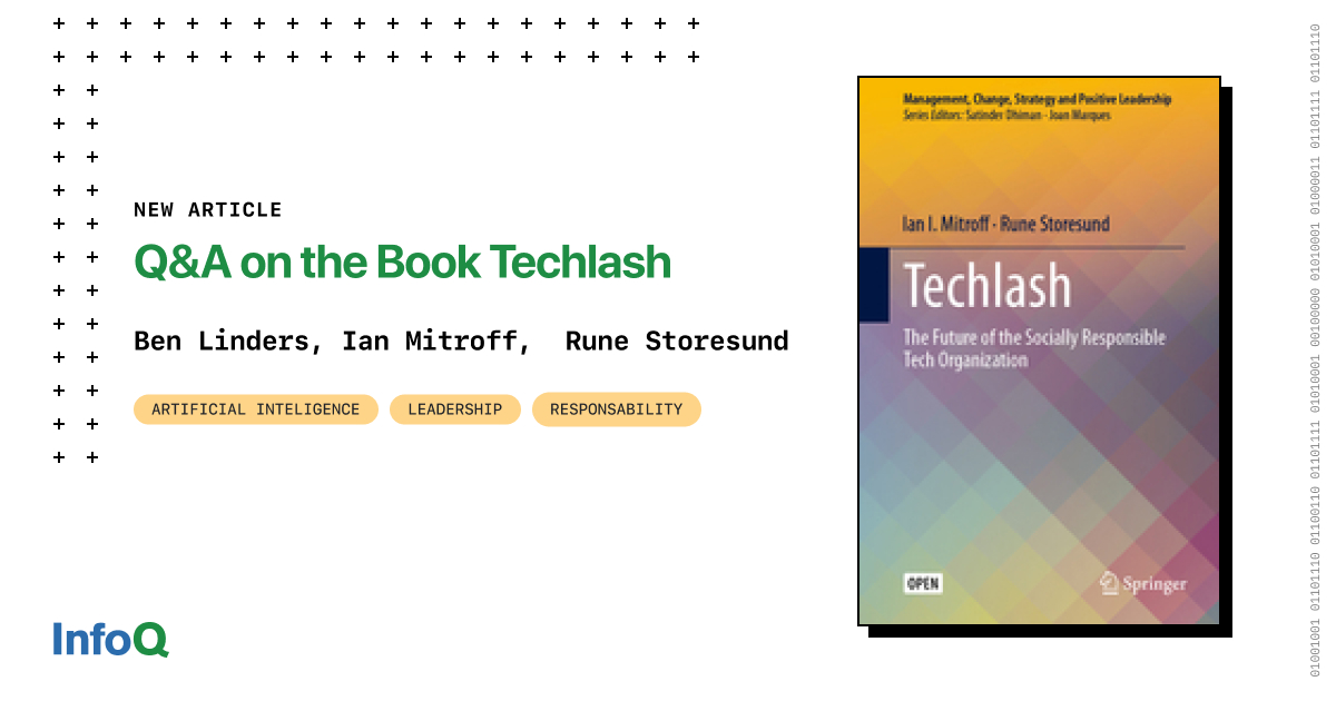 Q&A on the Book Techlash