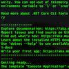 Usando o .Net Core Template Engine para criar templates e projetos personalizados