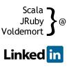 LinkedIn Signal: Scala, JRuby と Voldemortのケーススタディ