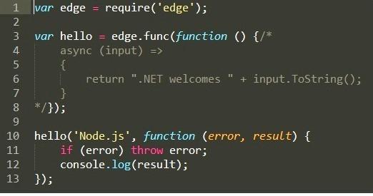 extrait de code 01