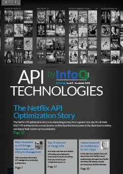 InfoQ eMag: API Technologies