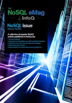 InfoQ eMag: The Best of NoSQL