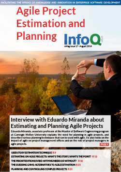 InfoQ eMag: Agile Project Estimation and Planning