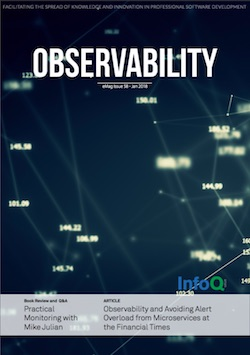 The InfoQ eMag: Observability