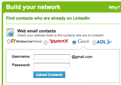 LinkedIn - Build your network