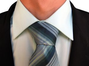 Manager with Tie