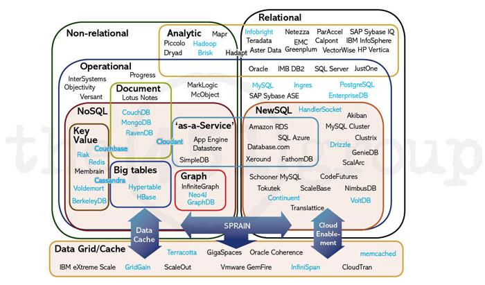 データベースの分類