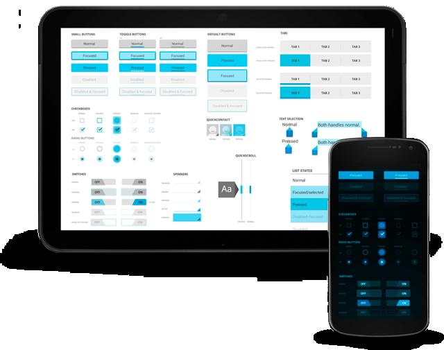Principais componentes UI do Android
