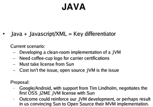 Android Java Strategy