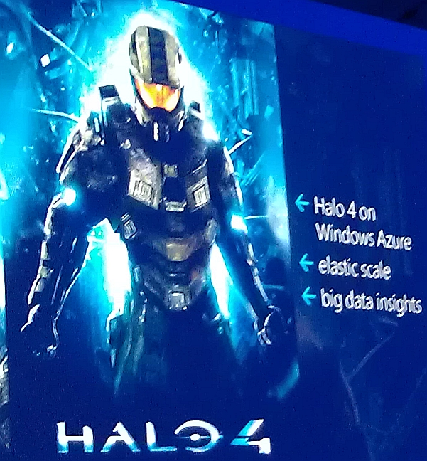 Halo 4 Using Azure