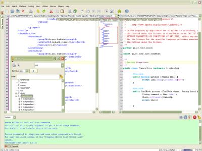 jedit 5 screenshot