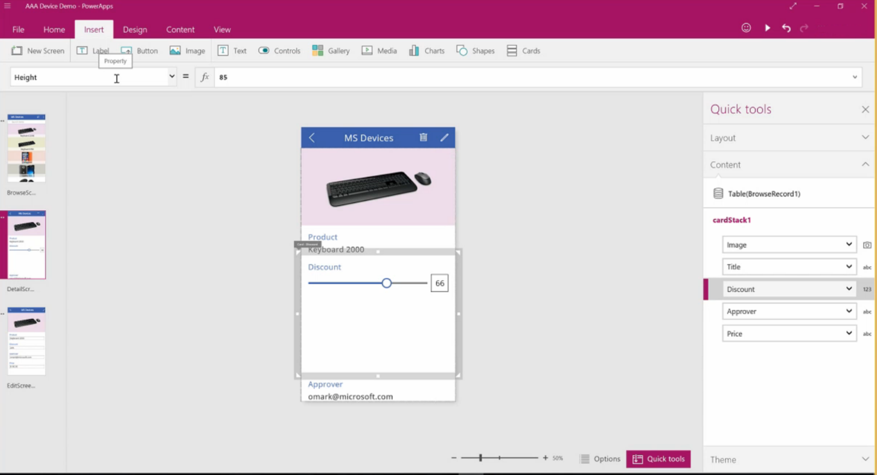 Introducing Microsoft PowerApps