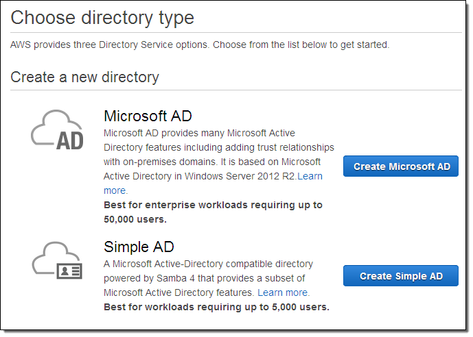 Amazon Introduces AWS Directory Service for Microsoft Active Directory