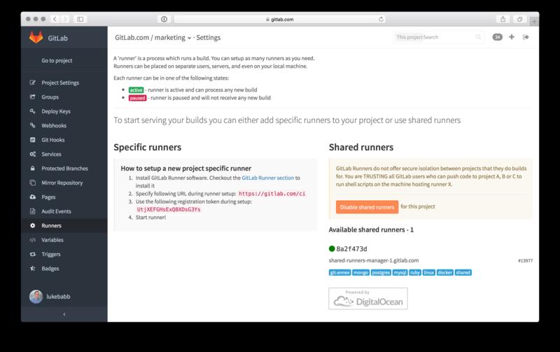 GitLab and DigitalOcean Offer Free Hosting for GitLab CI to