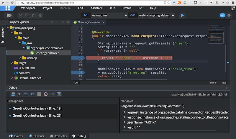 Screenshot of Artik Cloud IDE
