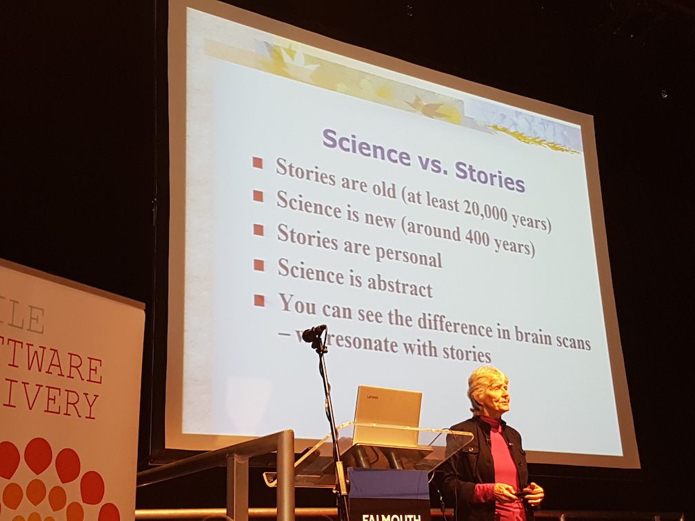 Stories vs Science