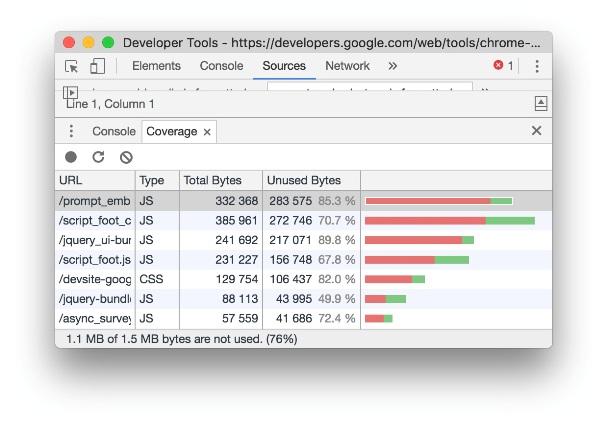 Mise à jour de Chrome DevTools