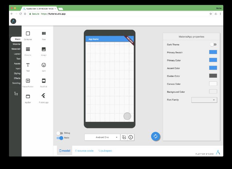 Google libera o Flutter Release Preview 1