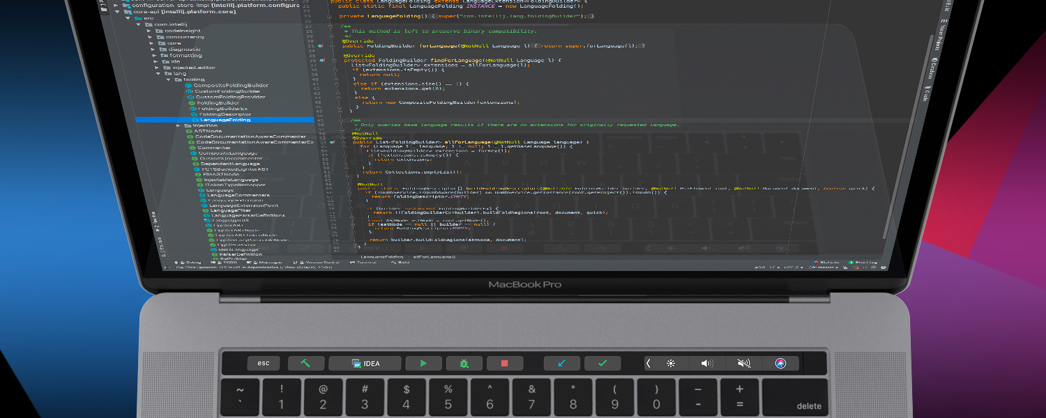 IntelliJ IDEA 2018 2 Supports Java 11, MacBook Touch Bar and More