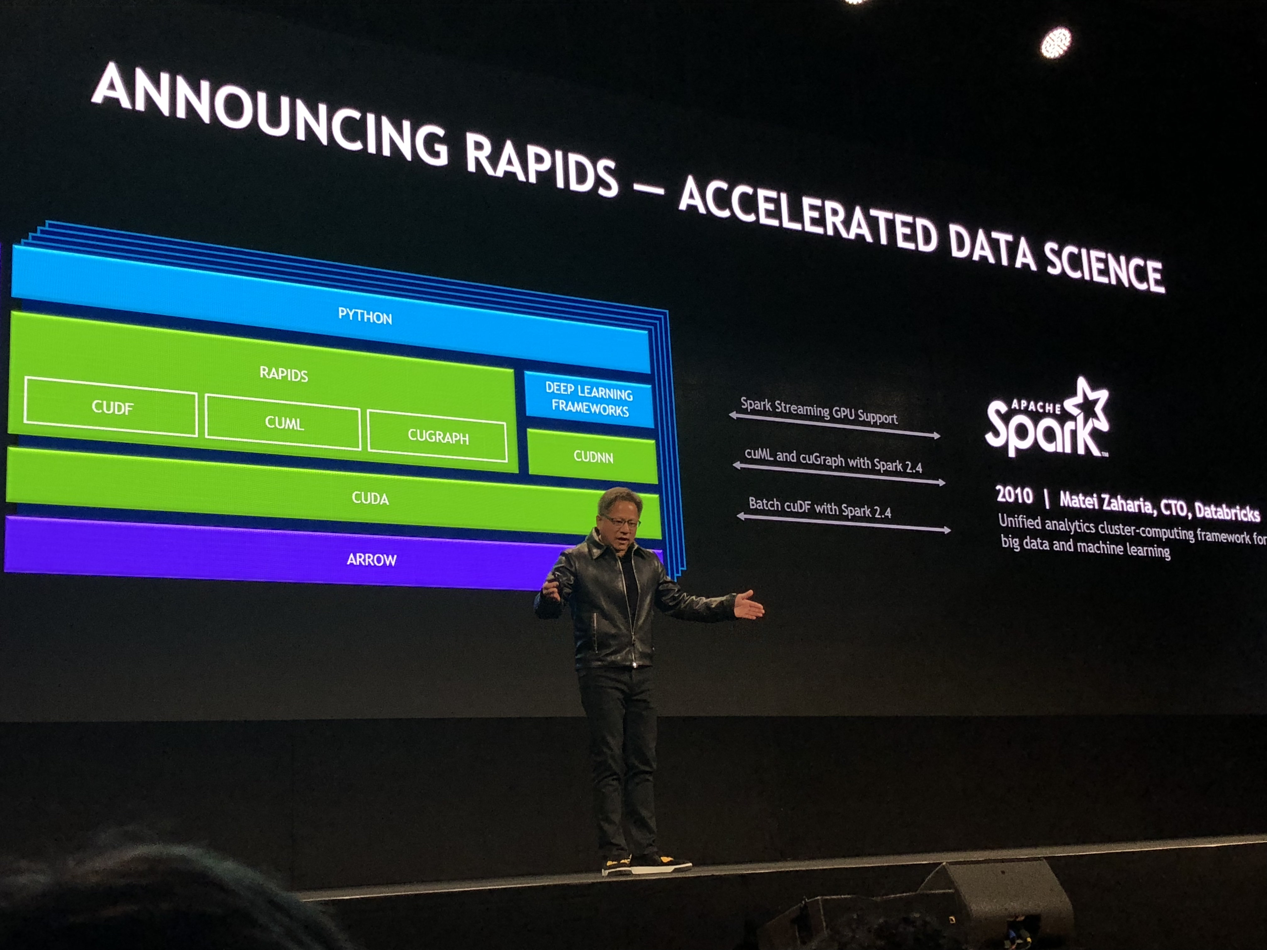NVIDIA Announces RAPIDS, Medical Image Application, and a Driving