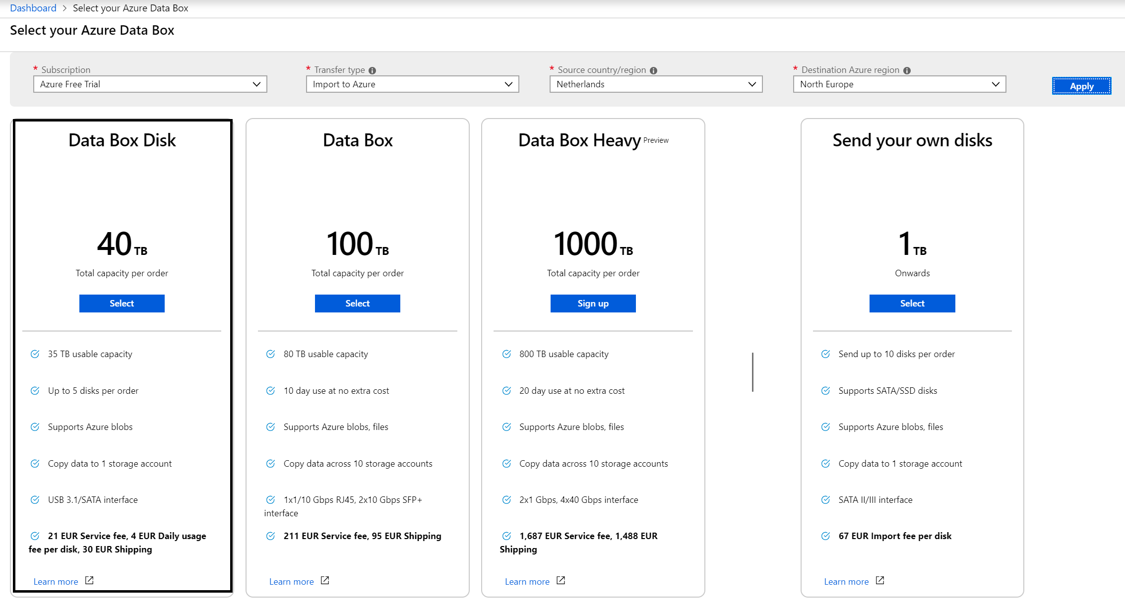 Microsoft Announces the General Availability of Azure Data Box Disk