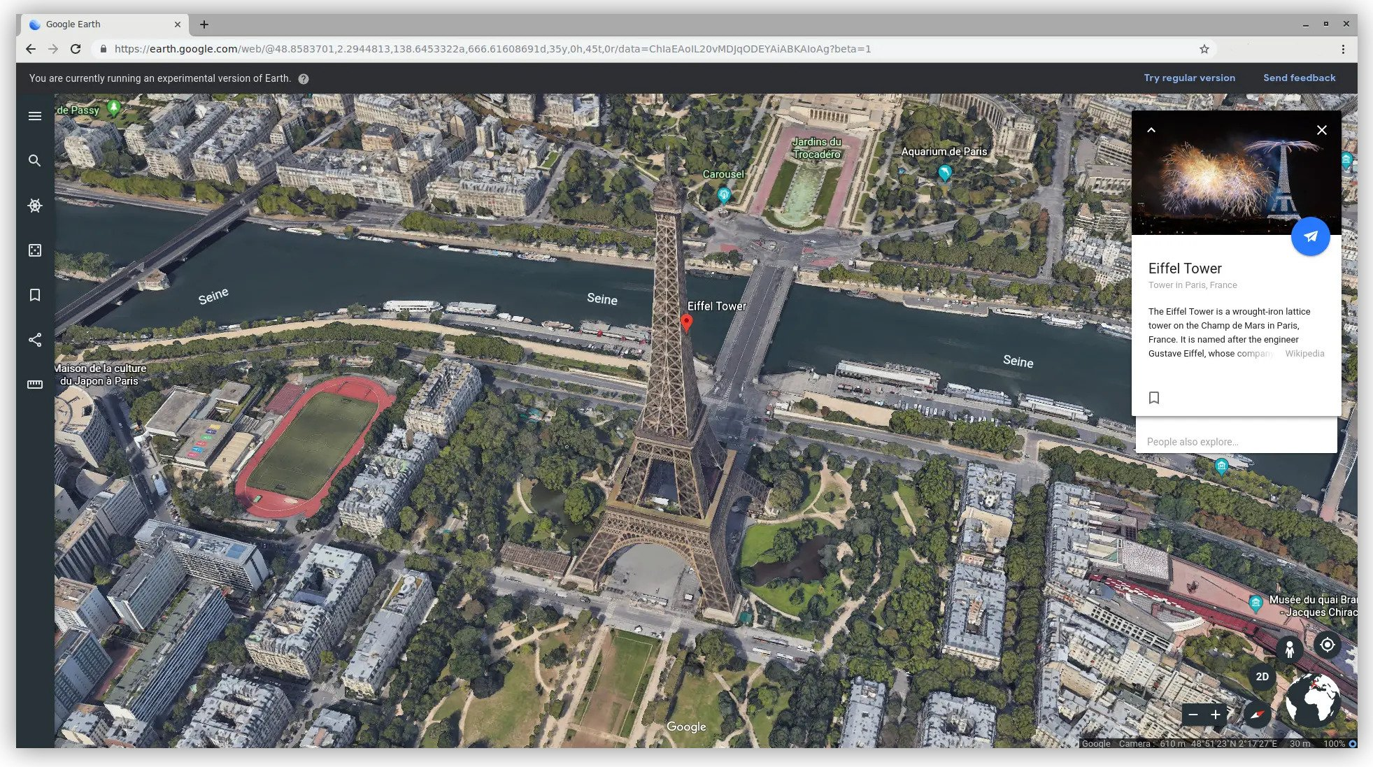 Google Earth Ported to Browsers with WebAssembly