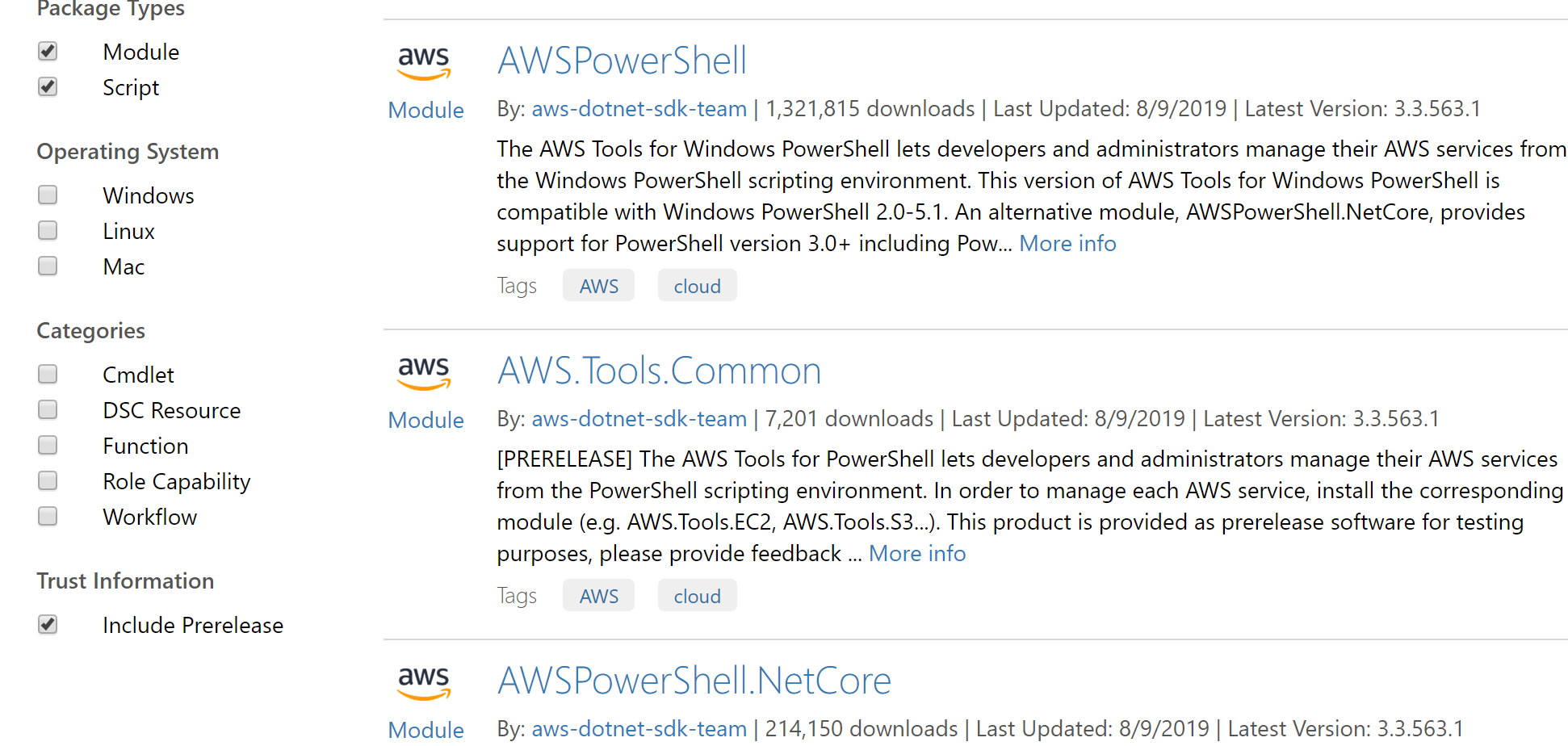 Amazon Releases a Preview of the New AWS Tools for PowerShell