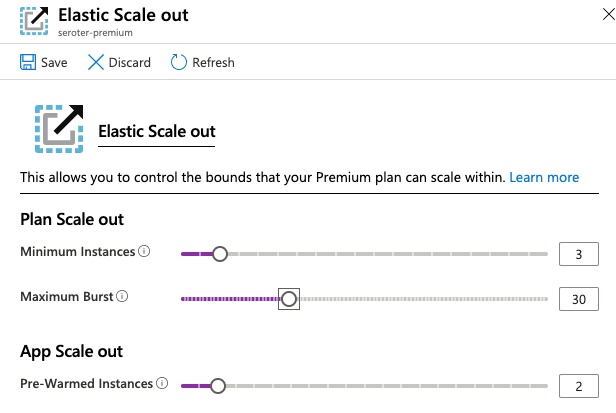 Scale out of Azure Functions