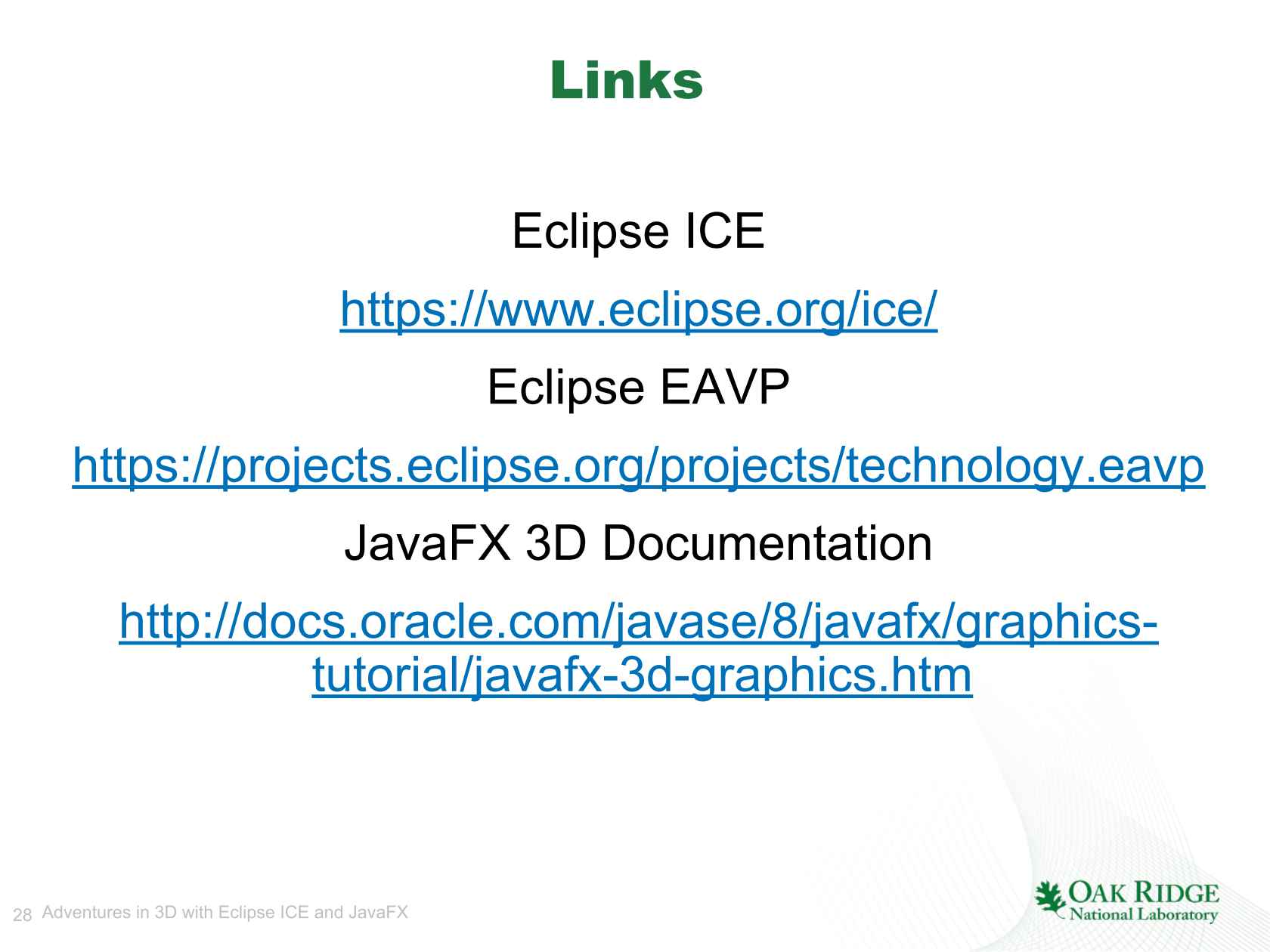 Adventures in 3D with Eclipse ICE and JavaFX