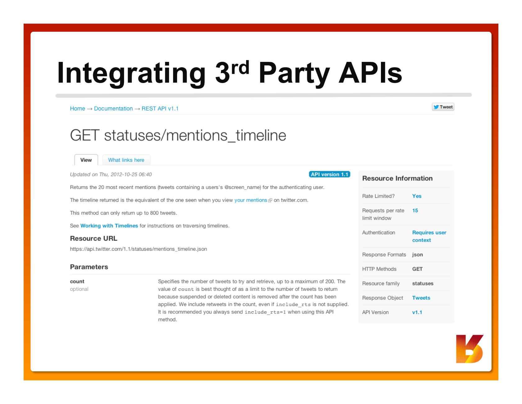API Conf Panel: API Design Best Practices