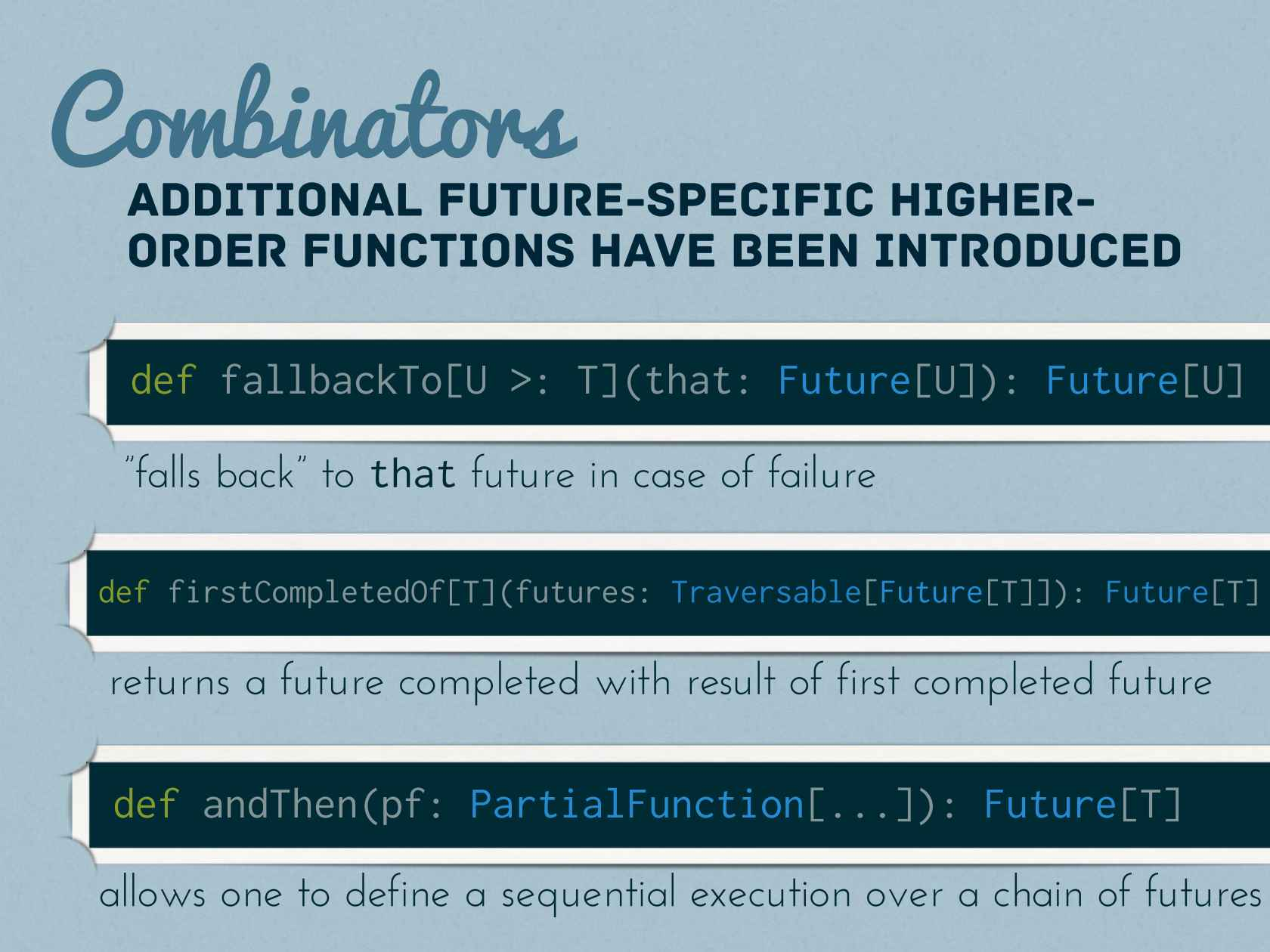 A Bright Future Full of Promise: Asynchronous Pipelines in Scala and