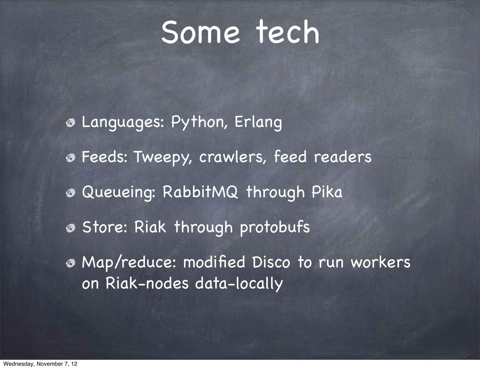 100% Big Data, 0% Hadoop, 0% Java