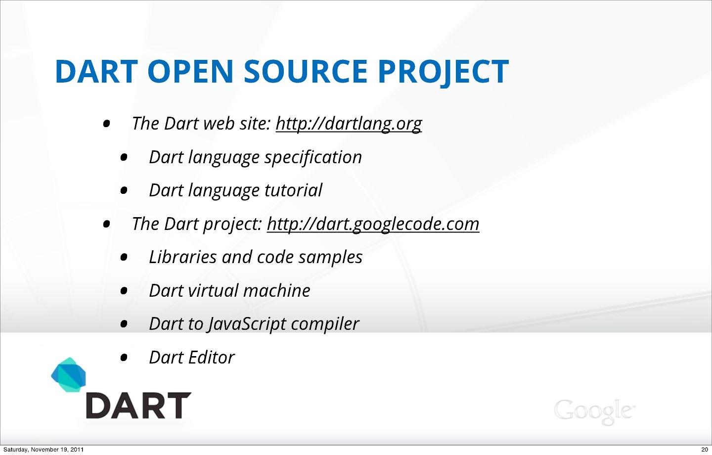 Dart: A Structured Web Programming Language