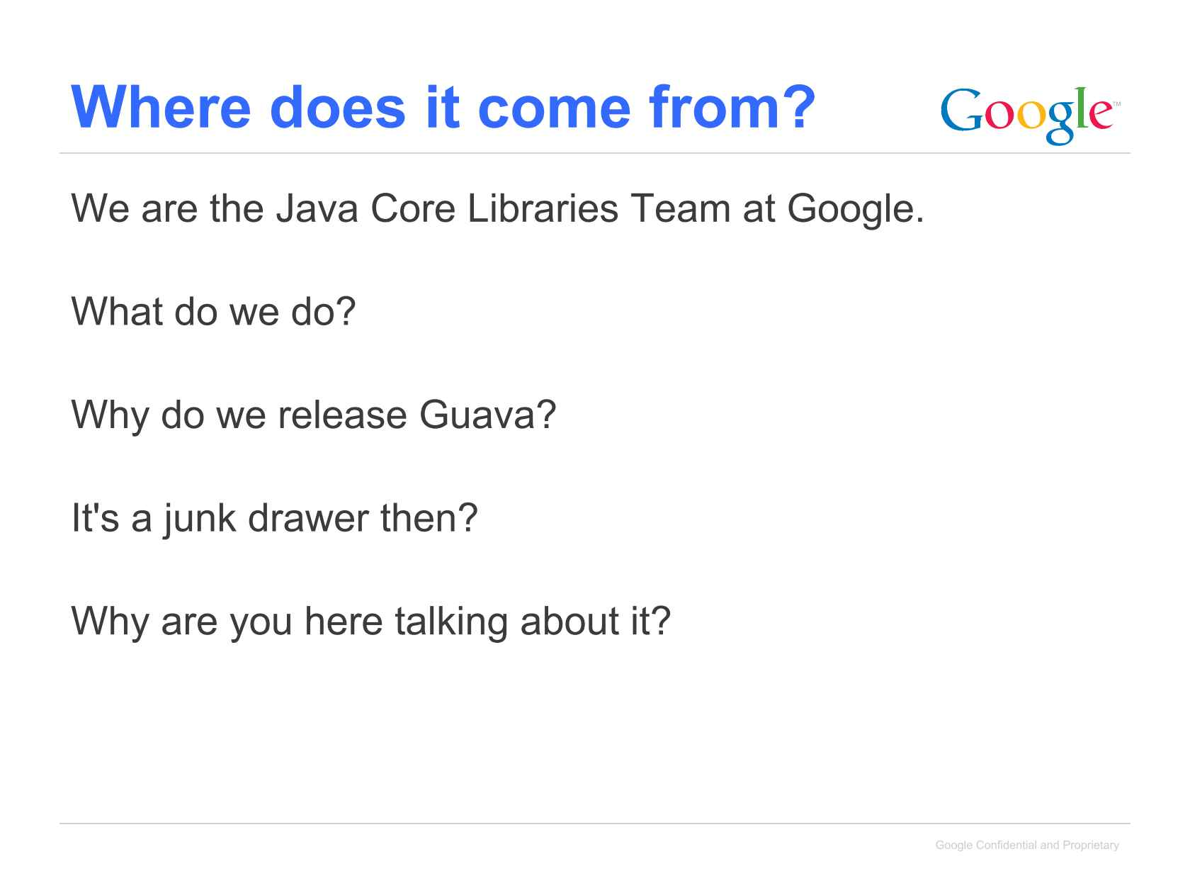 An Overview of Guava: Google Core Libraries for Java