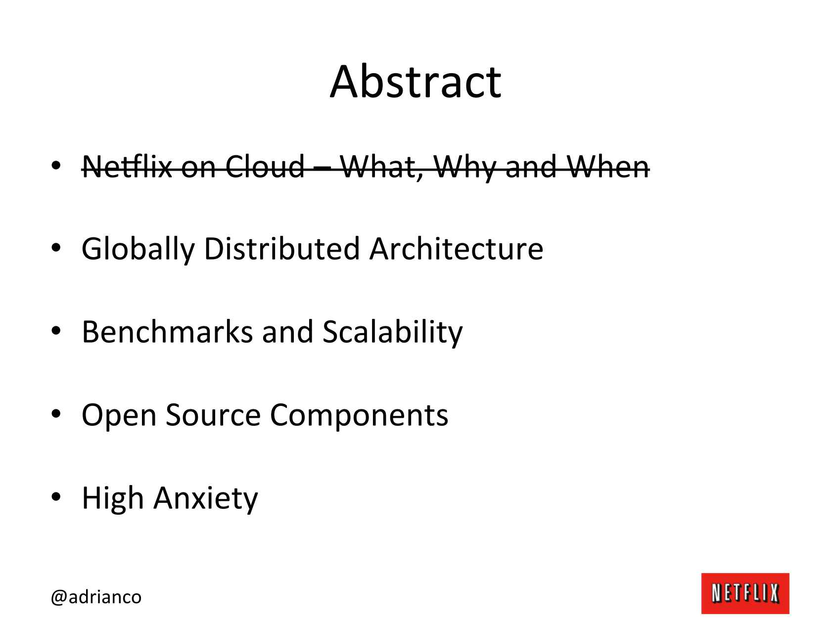 Architectural Patterns for High Availability