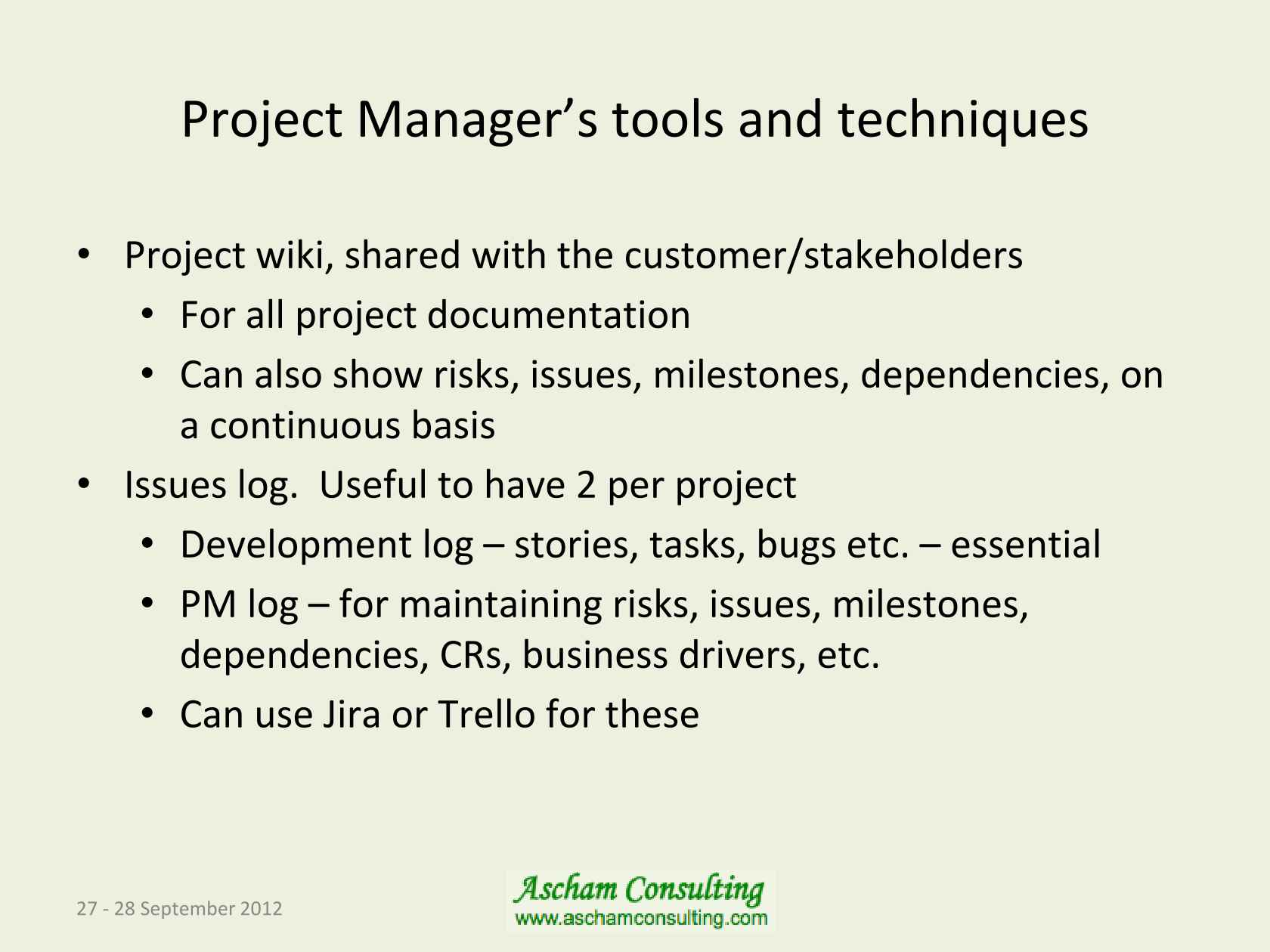 Project Management In An Agile World 27 Pm Projects Technical Discussions 2 Comments