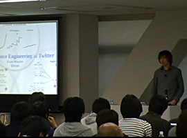 【QCon Tokyo 2011】ケーススタディ セッション Evan Weaver 氏