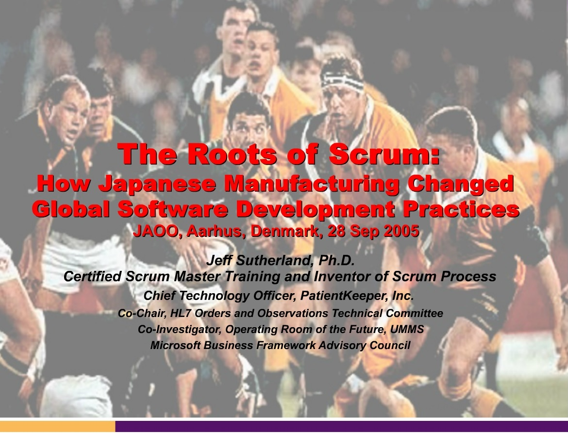 The Roots of Scrum