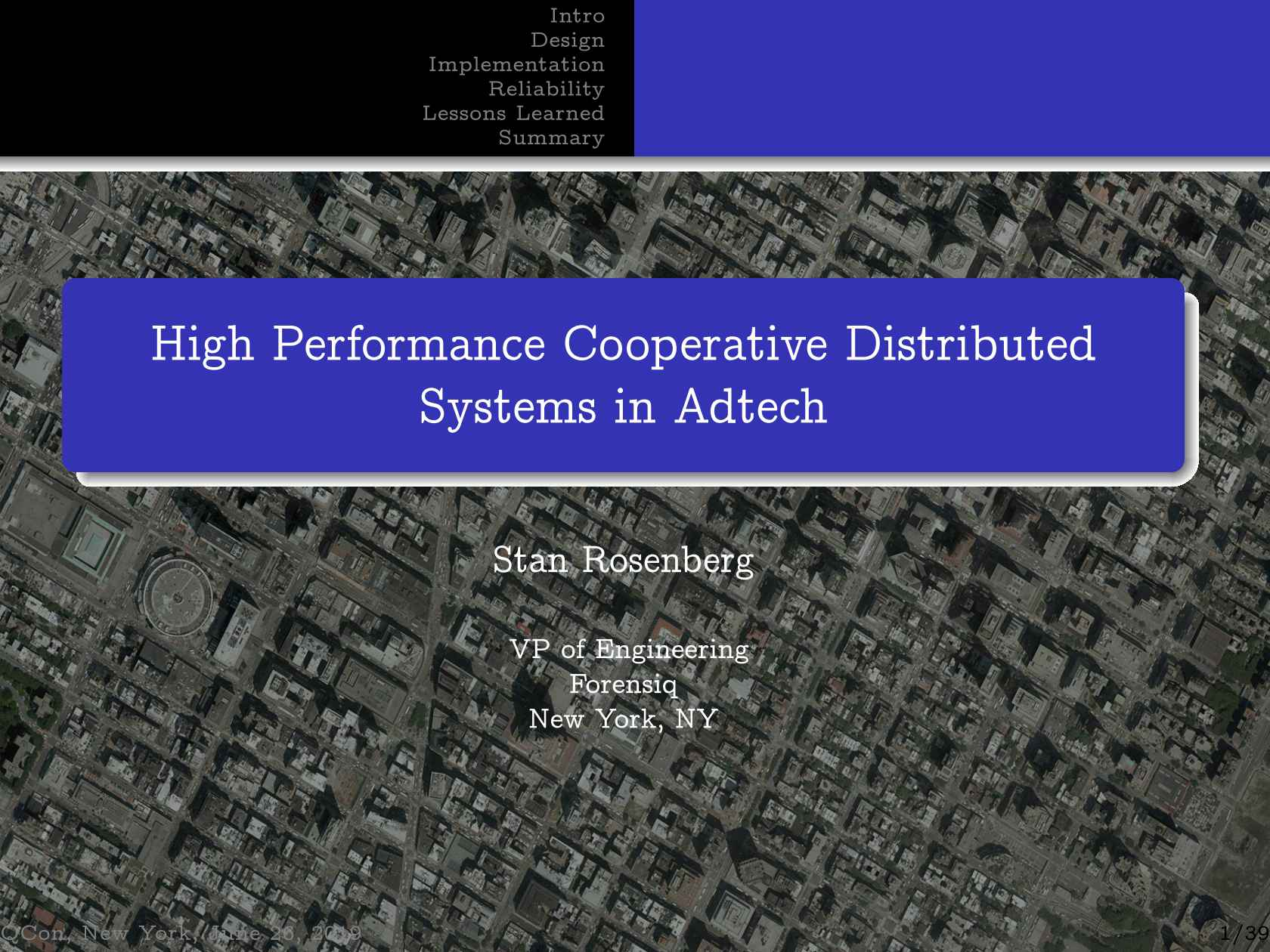 High Performance Cooperative Distributed Systems In Adtech