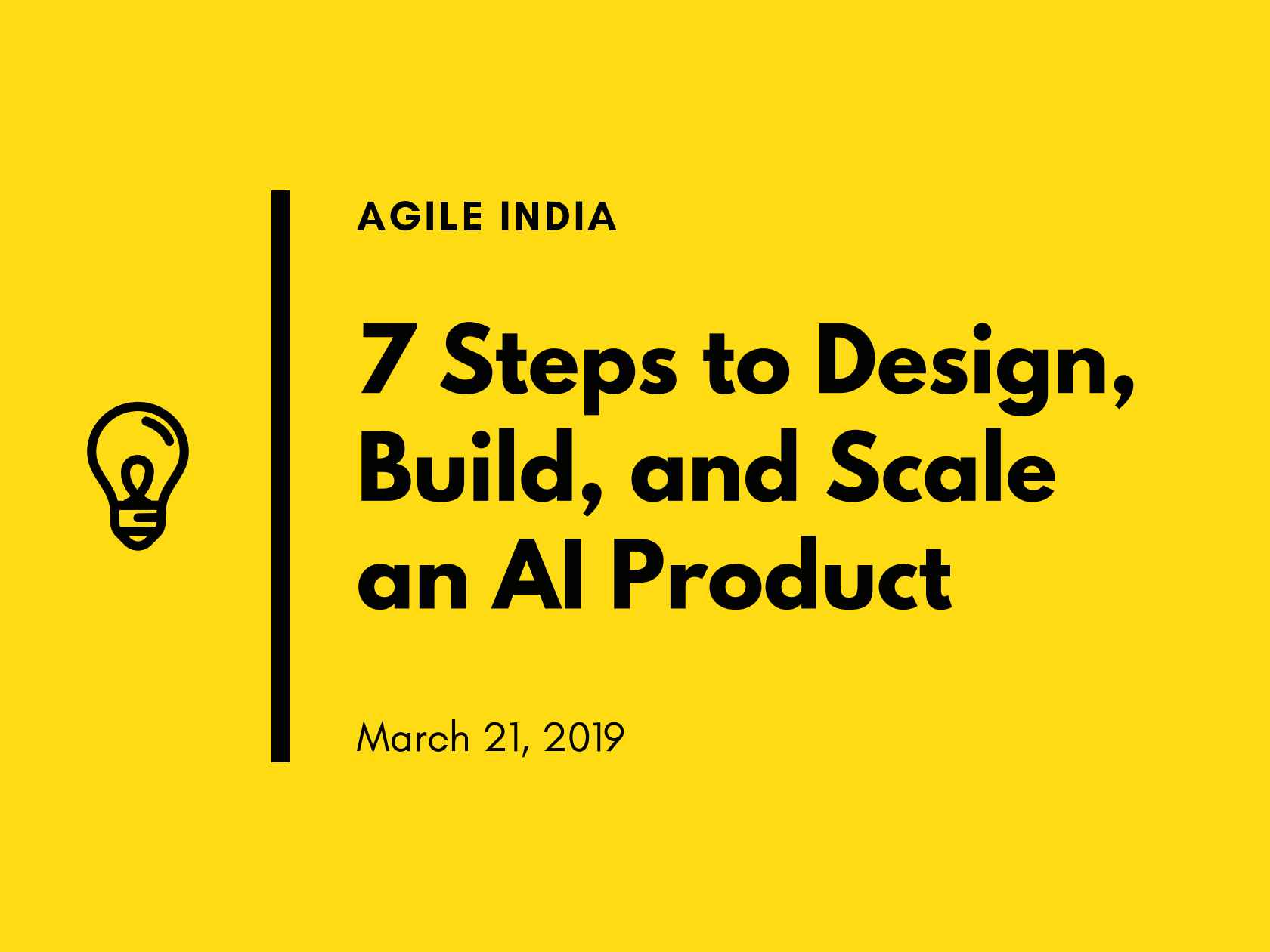 Strange Seven Steps To Design Build And Scale An Ai Product Download Free Architecture Designs Scobabritishbridgeorg