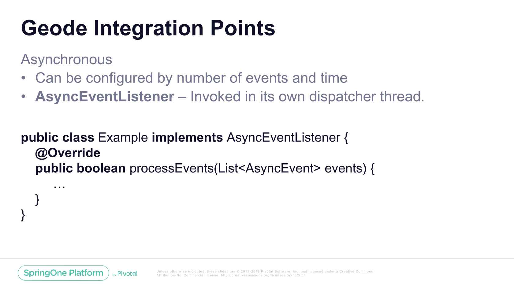 Event-Driven Architectures with Apache Geode and Spring