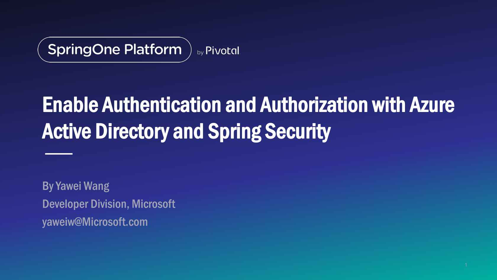 Enable Authentication and Authorization with Azure Active