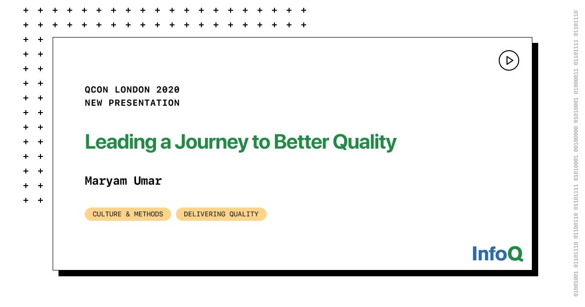 Presentation: Leading a Journey to Better Quality - RapidAPI