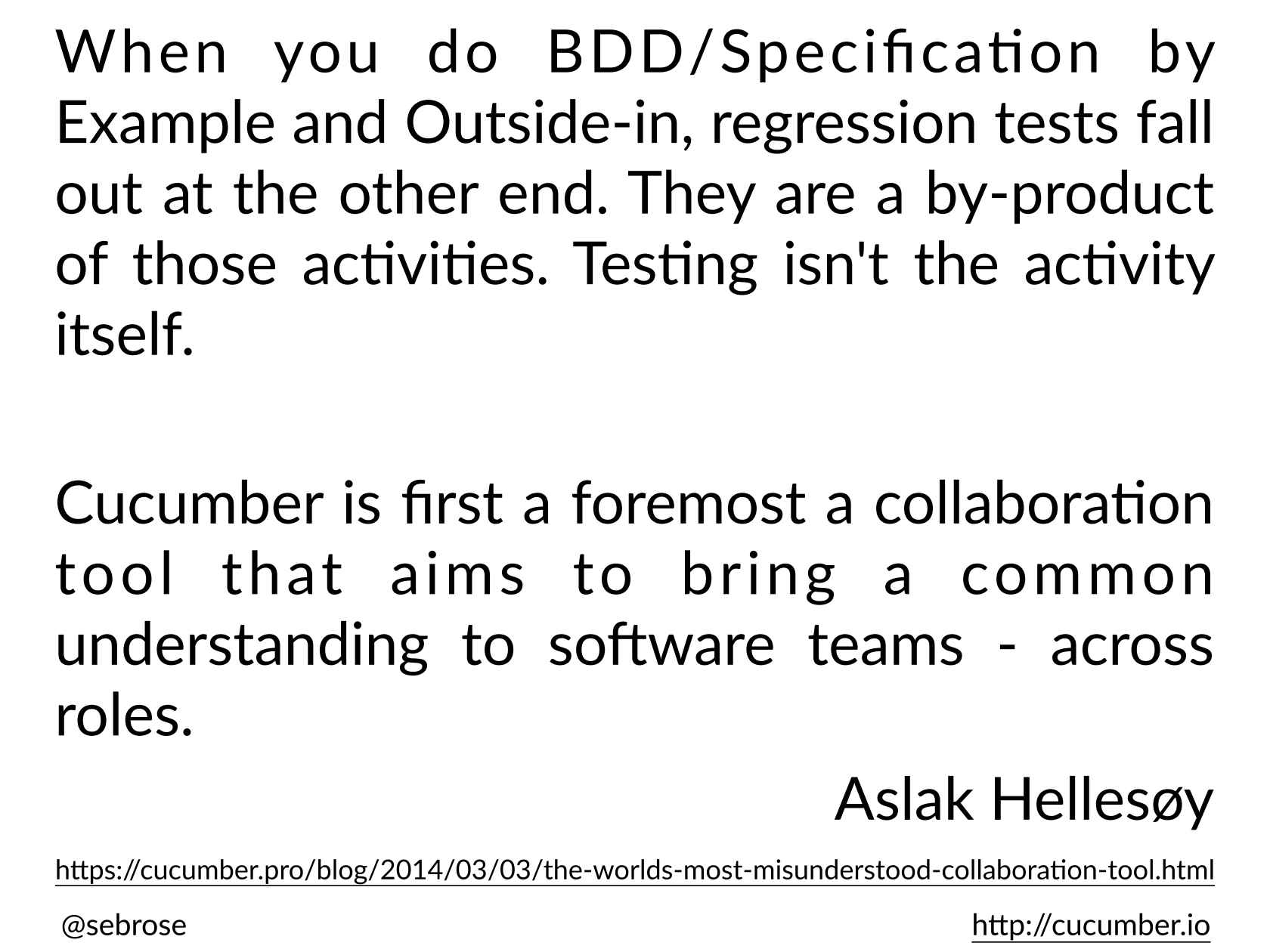 10 Things You Need to Know about BDD, SpecFlow and Cucumber
